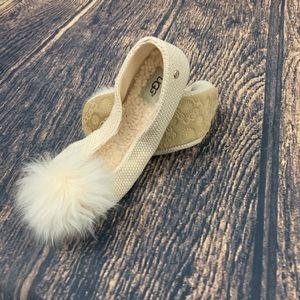 Ugg West Andi Ballet Flat Slipper Size 8 NWT